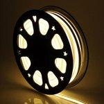Warm White, 2.4W, 120V,  LED Cuttable Polar-2 Neon Strip, 150 Ft Reel