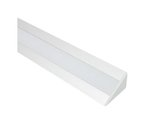 Frosted Polycarbonate Lens for Pro 45 Extrusion Trulux LED Light Support