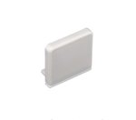 Square End Cap For Premium Turbo Extrusion Trulux LED Light Support
