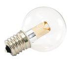 2400K 1W 120V G40 Transparent Pro Decoration E17 Base LED light