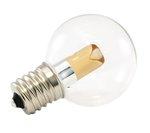 1900K 1W 120V G40 Transparent Pro Decoration E17 Base LED light