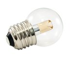 2400K 1.2W 120V G40 Transparent Pro Decoration E26 Base LED light