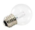 5500K 1.4W 120V G50 Transparent Pro Decoration E26 Base LED light