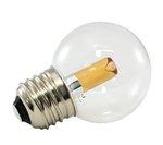 1900K 1.4W 120V G50 Transparent Pro Decoration E26 Base LED light