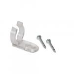 """.5"""" Mounting Clip w/ Screws for LED Rope Lights, Pack of 10"""