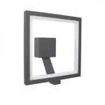 15W FrameWRX EXO Wall Sconce, Square, 3000K
