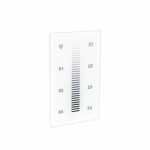Trulux RF Wall Control, Single Color, Touch Screen