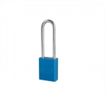5 Pin Blue High Visibility Aluminum Padlocks