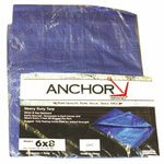 Blue 20'x12' Multi-use Polyethylene Tarp