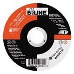 Flexible Depressed Center Wheel, 7 inch Dia, 0. 13 inch Thick, 0. 63-11 inch Arbor, 46 Grit