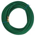 50' Green Synthetic Rubber Argon Single Line Welding Hose