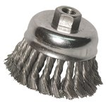 "Knot Cup Brush, 2-3/4"" .014 5/8-11"