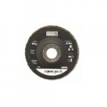 4.5-in Depressed Center Flap Disc, 40 Grit, Zirconia Alumina