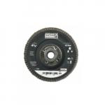 4.5-in Depressed Center Flap Disc, 60 Grit, Zirconium