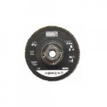 4.5-in Depressed Center Flap Disc, 60 Grit, Zirconia Alumina