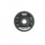 4.5-in Angled Flap Disc, 60 Grit, Zirconium