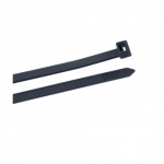4.1-in UV Stabilized Cable Ties, 18lb, Black