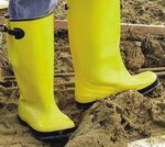Size 11 Yellow Heavy Duty Slush Boots