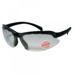 Contemporary Safety Glasses w/ 2.0 Diopter Bifocal Lens, Black