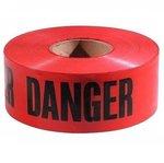 1000 Foot 3 Inch Orange Emergency Barrier Tape With Bold Black Font