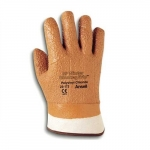 Raised Finished Water Monkey Grip Gloves, Size 10