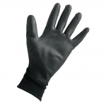 Sensilite Gloves, Black, Size 10
