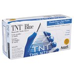 Large 5 Mil TNT Blue Disposable Gloves