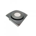 33W Slim Fit Bathroom w/LED Light, 90 CFM, Oil Rubbed Bronze