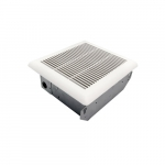 Grille w/ Grates for Slim Fit Ceiling Bathroom Fan