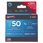 3/8 IN (10 mm) T50 Heavy Duty Genuine Arrow Staples