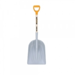 46-in Poly Scoop, Hickory Handle w/ D-Grip
