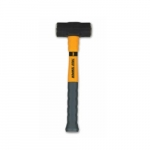 3lb Double Face Sledge Hammer w/ Fiberglass Handle