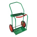 High Rail Frame Dual Cylinder Cart- Large Set