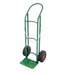 Welding Cart, Single Cylinder, 10-in Pneumatic Wheel