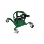 Single Cylinder Stand, 3-in Casters w/ Brakes