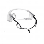 Override Series Safety Glasses, Clear Lens