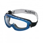 Atom Series Safety Glasses, Clear & Blue Lens
