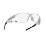 Rush Series Safety Glasses, HD, Clear Frame & Lens