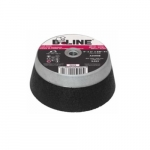 4-in Cup Wheel, 36 Grit, Aluminum Oxide, Resin Bond