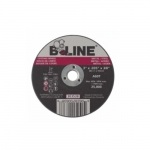 3-in Flat Cutting Wheel, 60 Grit, Aluminum Oxide, Resin Bond