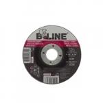 4.5-in Depressed Center Grinding Wheel, 24 Grit, Aluminum Oxide, Resin Bond
