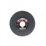 6-in Straight Grinding Wheel, 120 Grit, Aluminum Oxide, Resin Bond