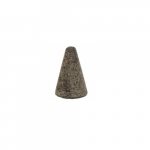 3-in Cone Grinding Tip, 24 Grit, Aluminum Oxide, Resin Bond