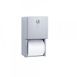 Stainless Steel Dual Roll Toilet Paper Dispenser