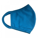 Reusable 3-Ply PPE Antimicrobial Cloth Face Mask, Blue