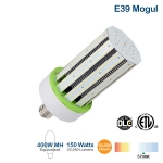 150W LED Corn Bulb, 400W MH Replacement, 22950 Lumens, 5700K