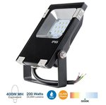 200W LED Flood Light w/Photocell, 600W MH/HID Retrofit, 24000 Lumens