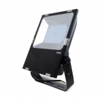 80W LED Flood Light w/Photocell, 110 lm/W, DLC