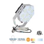 120W LED Shoebox Retrofit Kit, 13200 Lumens, 3000K , 500W MH Equivalent