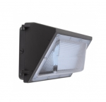 40W Semi Cut Wall Pack w/Photo Cell Sensor, 4800 Lumens, 5000K